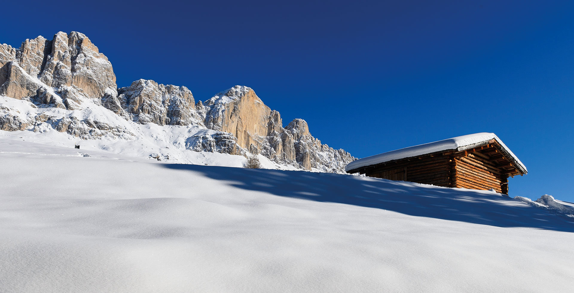 Winter holidays in the Dolomites