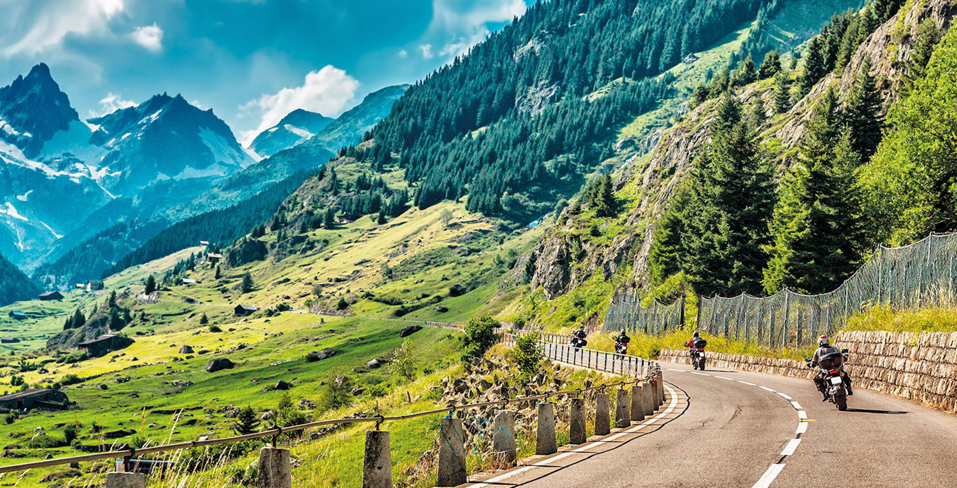 Bikers on Tour in South Tyrol