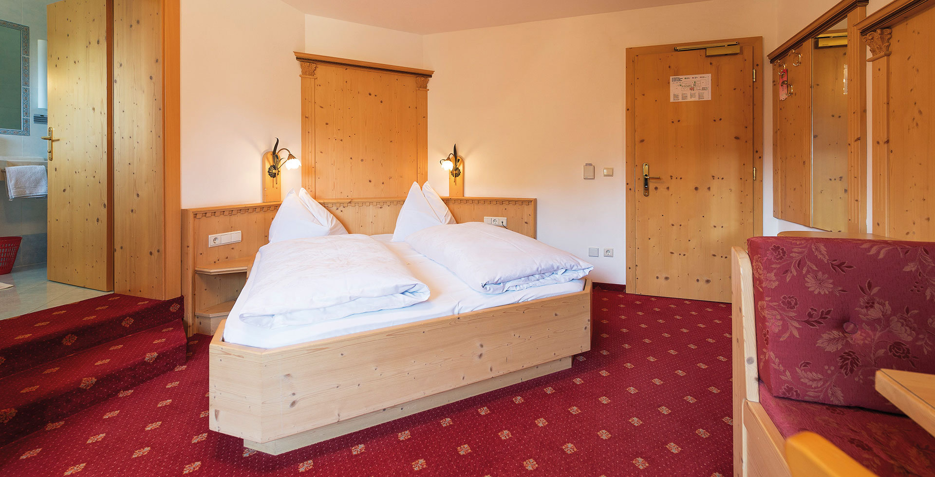 Rooms Rosengarten-Latemar holiday region